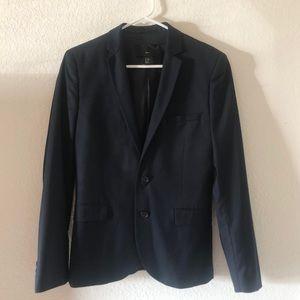 H&M dark blue blazer